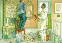 Carl Larsson (May 28, 1853 – January 22, 1919) was a Swedish painter and interior designer