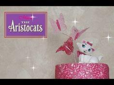 ▶ Marie Cat fondant tutorial - Come fare un gattino in pasta di zucchero - YouTube