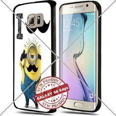 Samsung Galaxy S6 Edge Minion I Mustache you a question Cool Cell Phone Case Shock-Absorbing TPU Cases Durable Bumper Cover Frame Black Lucky_case26 http://www.amazon.com/dp/B018KOQACE/ref=cm_sw_r_pi_dp_wt8vwb1ZQS2JA