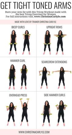 Arm workout for women & Best Arm Exercises for women that want tight toned arms. This arm workout routine was made with some of the& The post Arm Workout for Women that Want Tight Toned Arms appeared first on Griffith Diet and Fitness. Personal Fitness, Physical Fitness, Fitness Workouts, Arm Workouts At Home, At Home Workouts For Women, Best Arm Workouts, Arms And Back Workout At Home, Workout Routines For Women, Gym Routine Women
