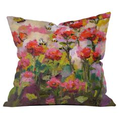 Bee Balm and Bees Pillow...so pretty...