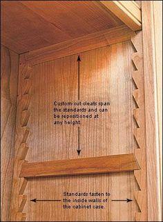 adjustable shelves, by Wilker Do's: DIY Rolling Storage Cabinet