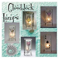 Glowblock Lamps on Etsy by glowblocks on Polyvore featuring interior, interiors, interior design, home, home decor and interior decorating