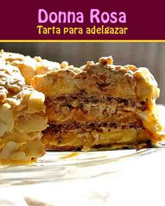 Posts in the Dietéticos Category at Los Mejores Postres Baking Recipes, Cake Recipes, Dessert Recipes, No Bake Desserts, Healthy Low Carb Recipes, Healthy Sweets, Russian Desserts, Cooking Cake, Easy Cake Decorating