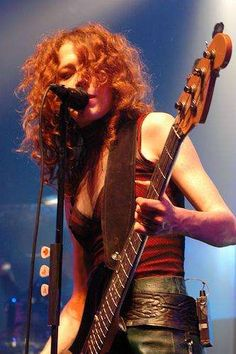 Melissa Auf der Maur from Hole and The Smashing Pumpkins