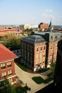 Purdue University.  Roger lived right off campus with student while he worked for railroad in Lafayette Indiana.