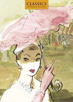 Pink Parasol sketch