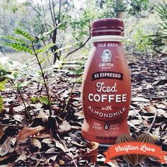Love of Califia XX Espresso Iced Coffee with Almondmilk has no bounds!