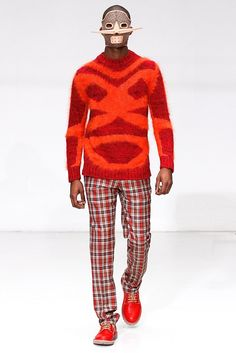 Walter Van Beirendonck Fall 2012 Menswear Fashion Show