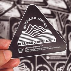Acoustic Research Stickers by #DatasetClothing www.feeldataset.com