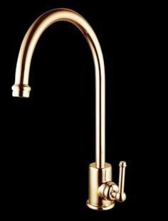 Find Mondella Maestro Gold Lever Handle Sink Mixer at ...