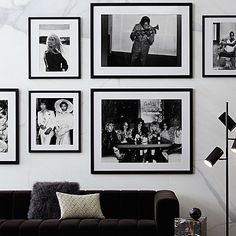 Home Decor Mirrors, Wall Art Decor, Savoy Hotel, Black And White Wall Art, Modern Art Prints, White Paints, Living Room Decor, Rock N Roll Living Room, Miles Davis