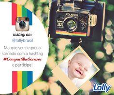 Vamos encher o nosso Instagram de sorrisos! Usando a hashtag: #CompartilheSorrisos coloque no Intagram uma foto do seu filhote com o seu melhor sorriso. A cada mês iremos escolher a melhor foto para um post no Facebook e um post no blog com o baby do mês. Quem topa?  #CompartilheSorrisos #Instagram #BabydoMês