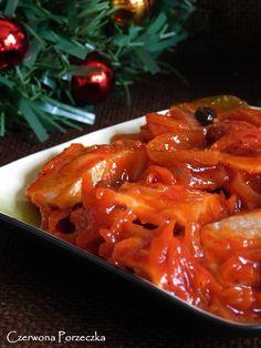 Czerwona Porzeczka: Najlepsze śledzie wigilijne Vegan Recipes, Cooking Recipes, Seafood Salad, Christmas Cooking, Healthy Dishes, Fish Dishes, Frugal Meals, Appetisers, Cucina