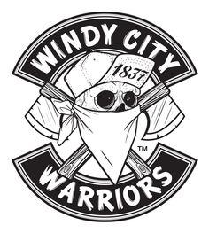 Windy City Warriors Apparel by UNscenefuture , via Behance