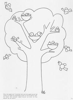 Kleur de vogels (werkblad).jpg (1190×1626)