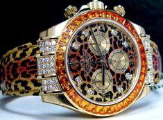 CHEETAH Rolex. OHHH.M.GEEE!!!!