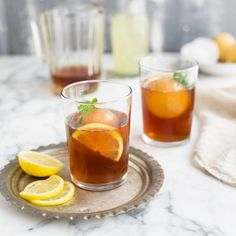 I'm a big fan of home made iced tea and it doesn't get more refreshing than this rooibos and mint iced tea recipe with lychee, ginger and lemon. I like to use fresh fruit juice to sweet… Lychee Recipes, Tea Recipes, Drink Recipes, Scone Recipes, Salad Recipes, Mint Iced Tea, Fish Pie, Creamy Chicken, Along The Way