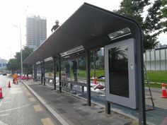 Bus Stand, Bus Shelters, Shelter Design, Container Design, Wayfinding Signage, Bus Station, Smart City, Street Furniture, Places To Visit