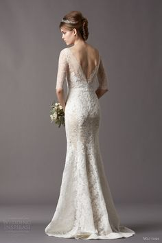 bridal gowns for older brides over 40 | Watters Brides Fall 2013 Wedding Dresses | Wedding Inspirasi