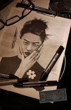 Geisha with ProMarker