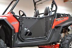 50 Caliber Racing Black Polaris RZR Door fit XP900 900 800 800s 2012 2011 2010 c