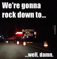 Electric Avenue closed?