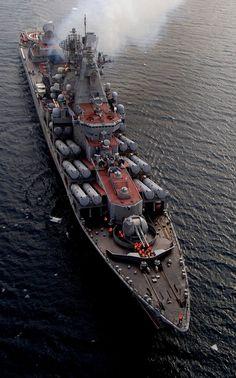 """Les croiseurs à propulsion nucléaire  de la classe Kirov ou Projet 1144 La désignation officielle du type Projet 1144, est """"croiseur lance-missiles, lourd à propulsion nucléaire""""1. En raison de leur taille et de leur apparence générale rappelant celles des anciens bâtiments de ligne de la première moitié du XXè siècle, ces bâtiments sont souvent appelés «croiseurs de bataille» par les observateurs navals occidentaux."""