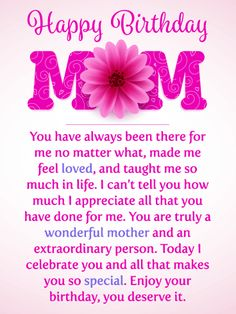 19 Ideas birthday wishes for mother quotes cards for 2019 Happy Birthday Mom Images, Happy Birthday Mom From Daughter, Birthday Greetings For Mother, Birthday Message For Mother, Happy Birthday Mom Quotes, Happy Birthday Quotes For Friends, Birthday Wishes For Mom, Birthday Card Sayings, Birthday Wishes Quotes