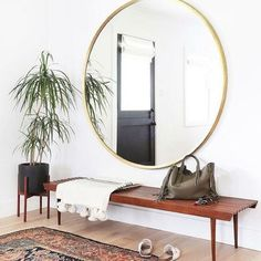 Interrupting the Fashion Week madness for a bit of interiors #inspo - rug obsessions live on www.the-frugality.com (image via Pinterest) #clientfreakinfabulous