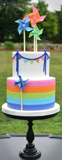 Pinwheel Cake: