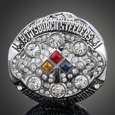 f51360a43 Wholesale Fashion Hot Sale Replica Ring NFL 2008 Pittsburgh Steelers Super  Bowl Championship Ring Men Steelers