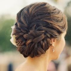 Formally yours, wedding style x braided hair