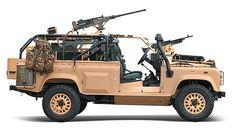 Landrover Defender WMIK - British Forces