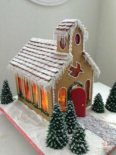 Gingerbread Church ~ Sweetopia