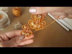 Мастер класс серьги белые фриволите. Фриволите иглой. Earrings needle tatting. Frivilité. Occhi - YouTube