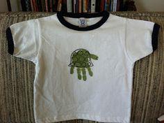Turtle Handprint Shirt