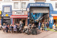 The real hub of Brixton with street food, plenty of stalls and bars.