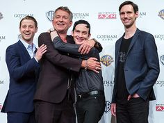 Star Tracks: Thursday, June 11, 2015 | BOYS WILL BE BOYS | Gotham may be a crime drama, but off-camera, it's nothing but love for co-stars Benjamin McKenzie, Sean Pertwee, Robin Lord Taylor and Cory Michael Smith at a Thursday press event in Tokyo.