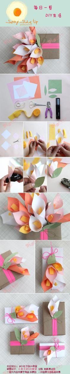 DIY Tutorial DIY Origami / DIY Origami Flower Box - Bead & Cable