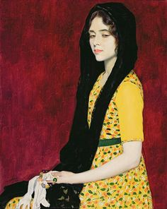 marvasia:  William Strang, Panchita Zorolla, 1916