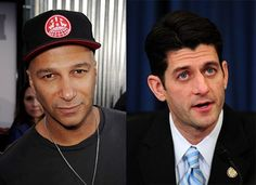 Teehee. Paul Ryan vs. Rage Against the Machine