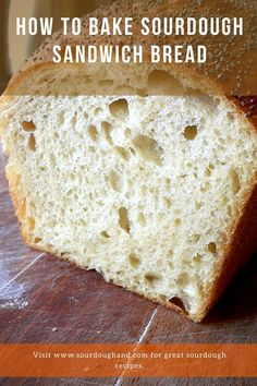 Baking sandwich bread with a sourdough starter will give you bread with exceptional taste and flavors, even if you minimize the fermentation time. In this sourdough recipe, you will learn how to bake sandwich bread the quick way. Sourdough Recipes, Sourdough Bread, Bread Recipes, Oven Plate, Baked Sandwiches, Gluten Intolerance, Recipe Notes, Bread Baking, Grocery Store