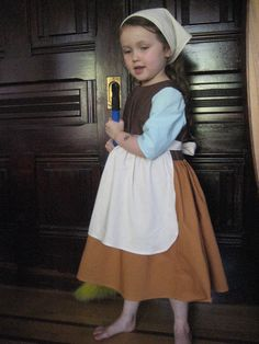 Girls Cinderella Rags Costume. $100.00, via Etsy. in girl's sizes 2-8