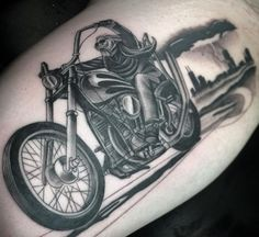 Head out on the highway . . .Biker Tattoos owl.li/VsHtr