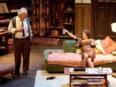 who's afraid of virginia woolf stage set - Google Search
