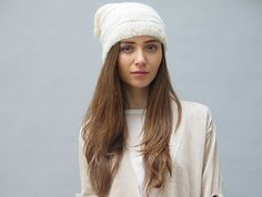 Eco-Friendly gifts for your girls: Nomadic Thread Society slouchy hat at Kaight