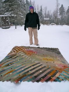 knitted blanket 2012 by amona, via Flickr
