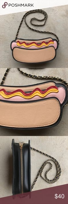 NWOT Hotdog Purse Originally bought this for a New York trip... but the trip was cancelled. Brand new! Bags