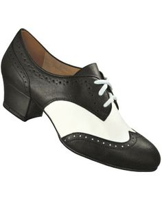 fd6bd51acd6c New Aris Allen Black   White 1930s Oxford Swing Dancing